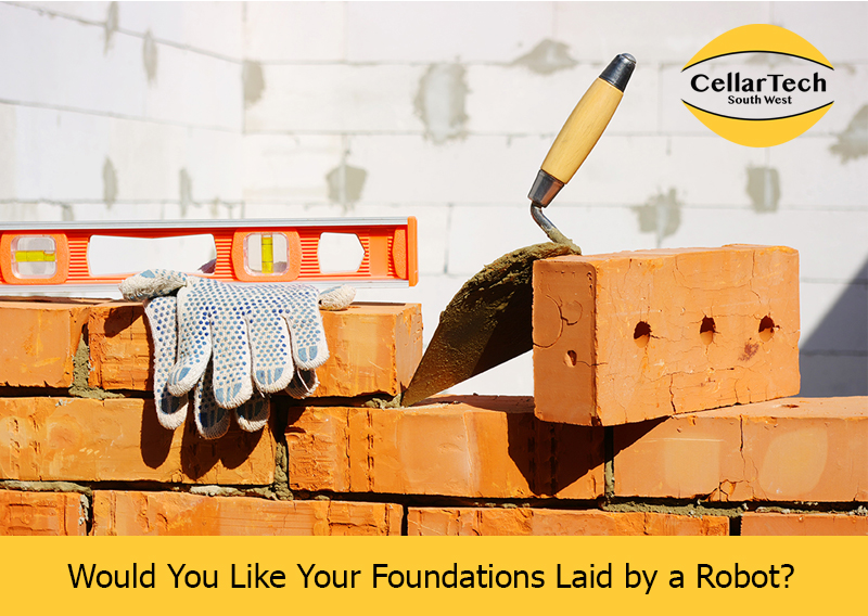 Would You Like Your Foundations Laid by a Robot?