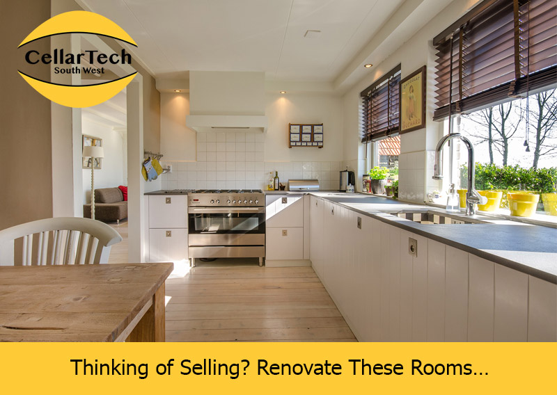 Thinking of Selling? Renovate These Rooms…