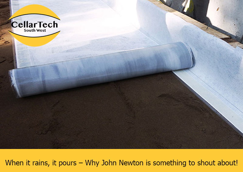 When it rains, it pours – Why John Newton is something to shout about!
