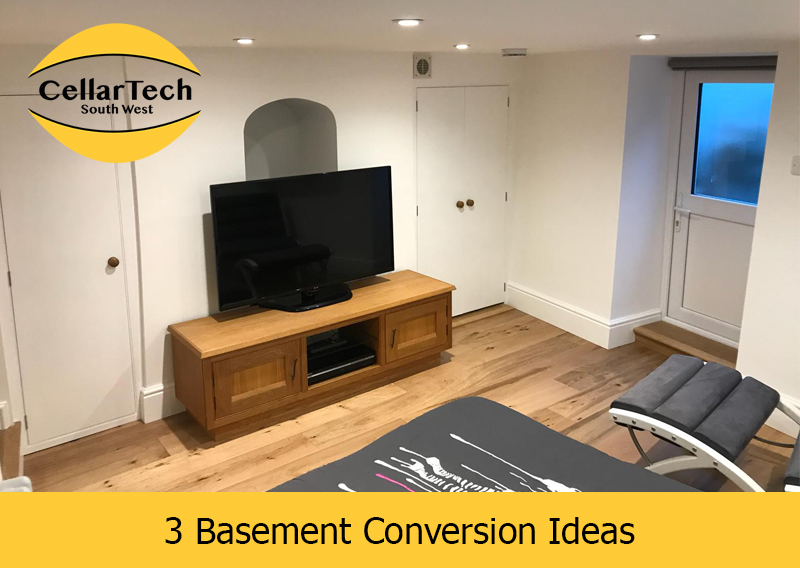 3 Basement Conversion Ideas